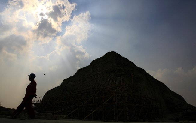 4,300-Year-Old Pyramid Discovered South of Cairo
