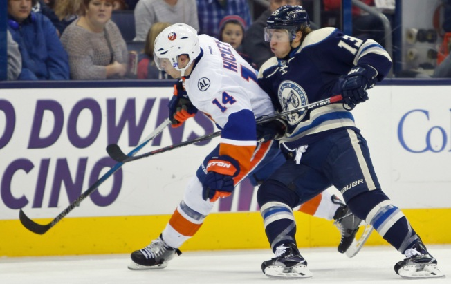 Islanders Shed Blue Jackets 3-2 in OT