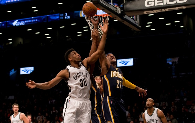 Nets Outpace Pacers 120-110