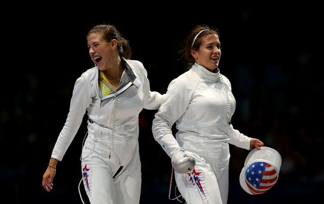 Sisters Look to Conquer Fencing, Sibling Rivalry in Rio
