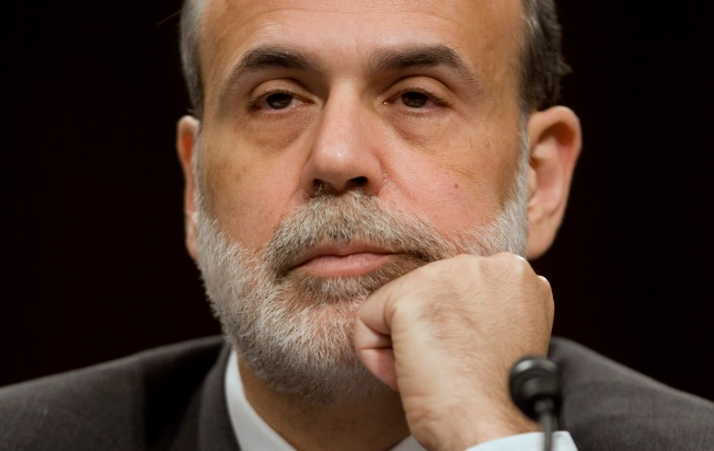 Stocks Up As Bernanke Says Recession Will End in '09