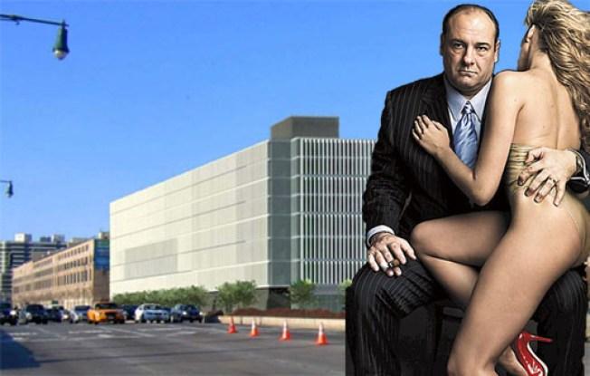 Tony Soprano May Whack the Tower O' Garbage Down