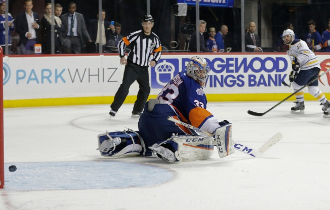 Islanders Edged by Sabres 4-3