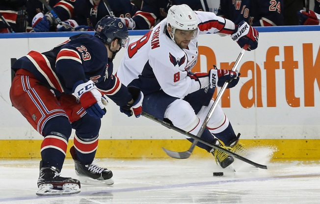 Rangers' Comeback Falls Short in 4-3 OT Loss to Capitals