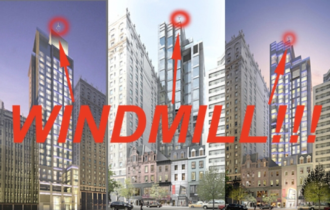 Rumor Confirmed: Midtown's Giant Windmill Revealed