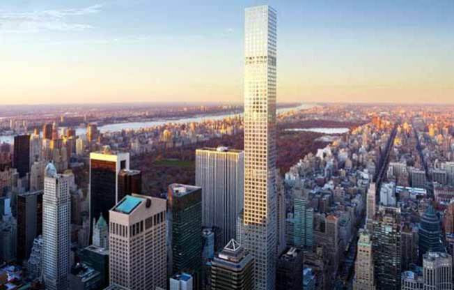 Midtown Megatower Topped Off, Becomes NYC's Second-Tallest Building
