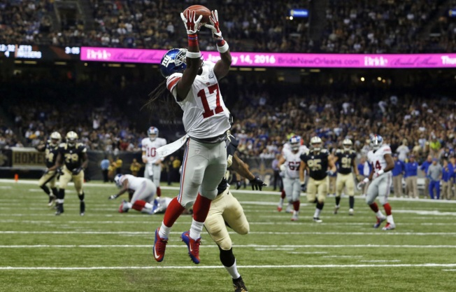 Giants Lose 13-TD Aerial Battle Against Saints, 52-49