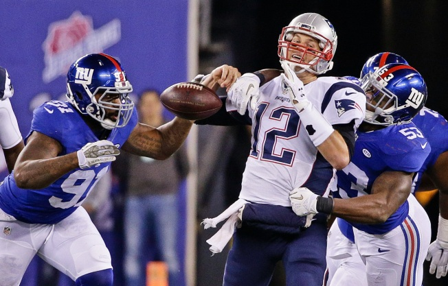 Giants Slain by Patriots' Last Second Field Goal