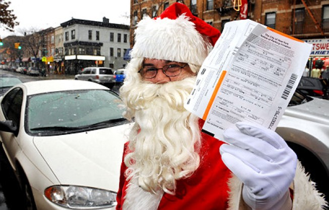 NYC Dept. of Finance Officially Hates Santa Claus