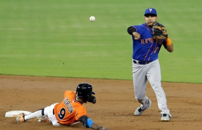 Prado, Again, Helps Marlins Nip Mets, 4-3