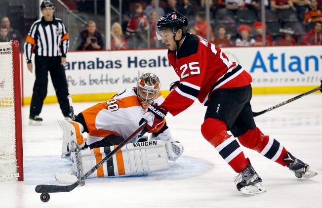 Devils Lose to Red-Hot Flyers 4-3 in OT