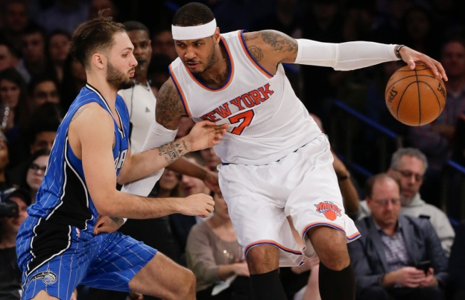 Knicks Pound Reeling Magic 108-95