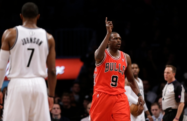 Nets Fall to Bulls 90-82, Series Even at 1-1