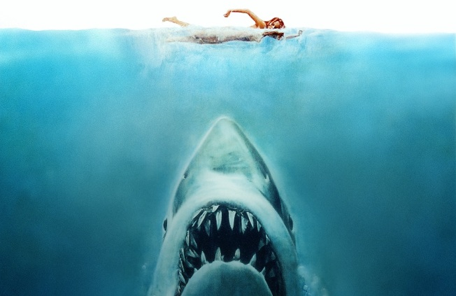 """Jaws"" Swimming With Bowlegged Women At Midnight"