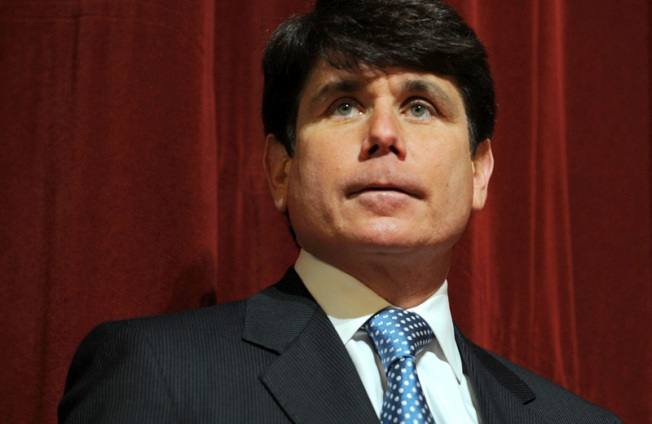 Blago Won't Have Say in Filling Senate Seat