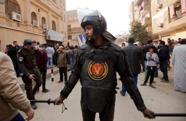Gunman Opens Fire on Cairo Church; Shootout Kills at Least 9