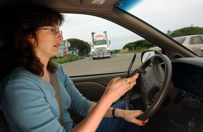 Crackdown Targets Drivers on Cell Phones