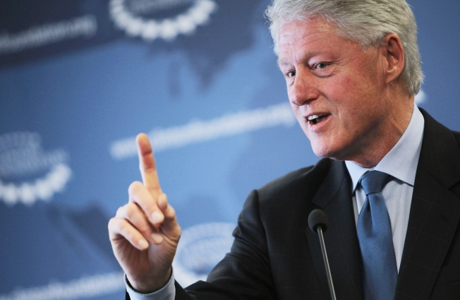 Bill Clinton Back to Work, Combating Childhood Obesity