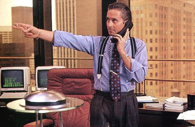 Is Gordon Gekko Getting In Touch With His Feelings?