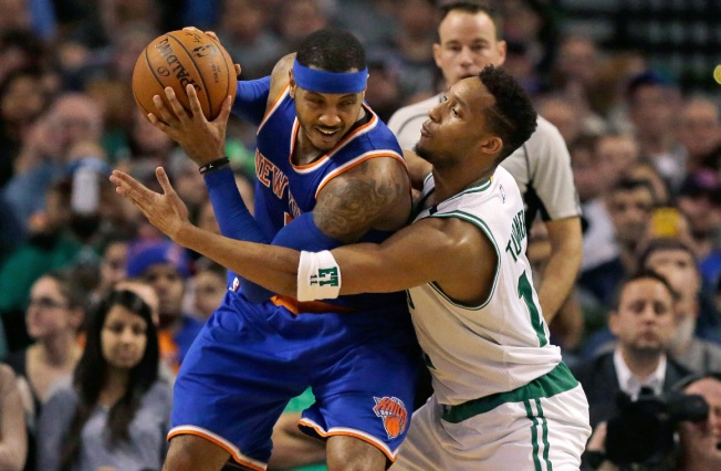 Knicks Toppled by Celtics 100-91, Lose 4th in a Row