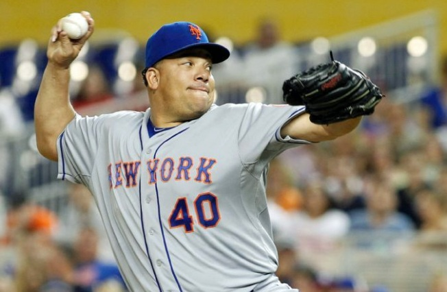 Colon, Mets Snag Marlins, 7-0