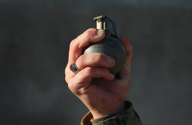 Grenades Found in Charity's Donation Bin for Clothing, Toys