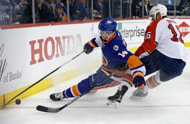 Islanders Skate to 4-3 OT Victory over Panthers