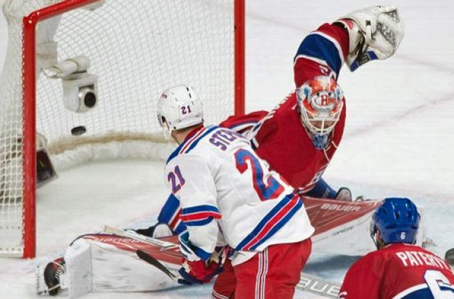 Rangers Batter Canadiens 5-2