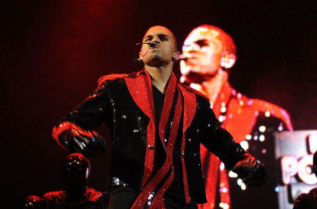 Chris Brown Channels Michael Jackson at Comeback Show