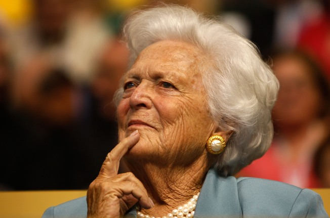 Barbara Bush Recovering from Heart Surgery