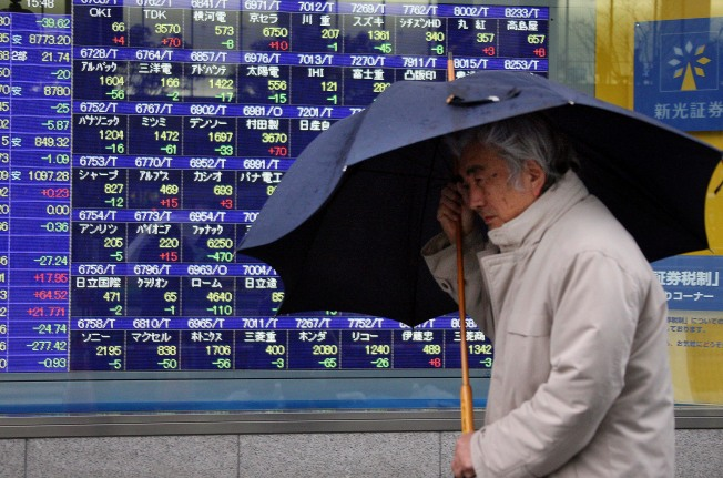 Most Asian Markets Fall Ahead of U.S. Jobs Report