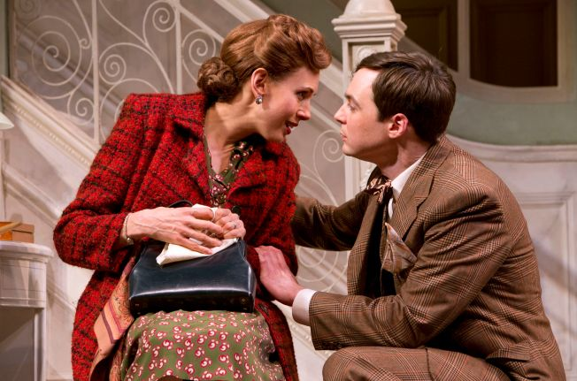 "Review: Jim Parsons Hops to It in ""Harvey"""