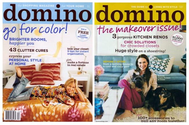R.I.P. Domino Magazine