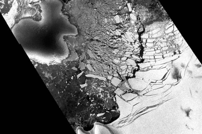 NYC-Sized Ice Chunk Breaks Off in Antarctica