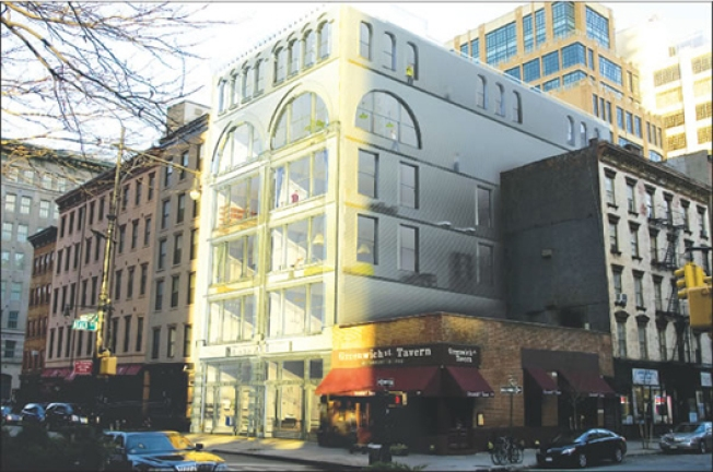 World's First Glass-Brick Building Proposed for Tribeca