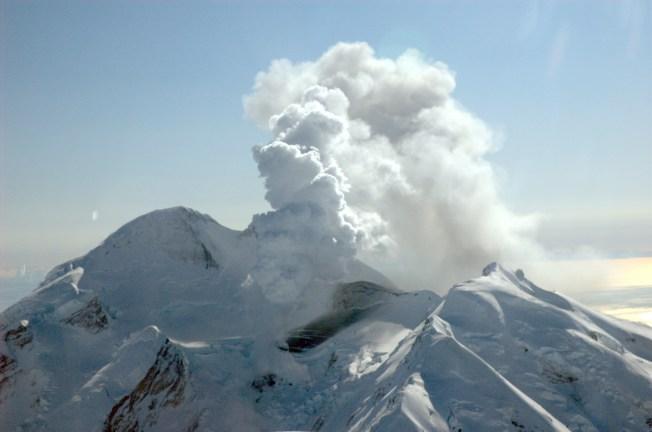 Alaskan Volcano Erupts Six Times