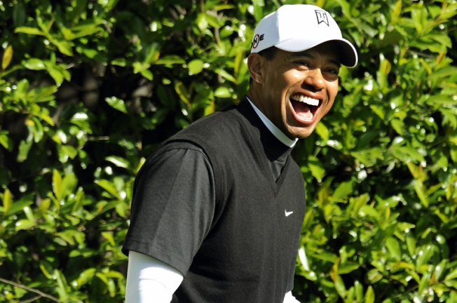 Tiger Laughs Off Taunts by Drunk Fans