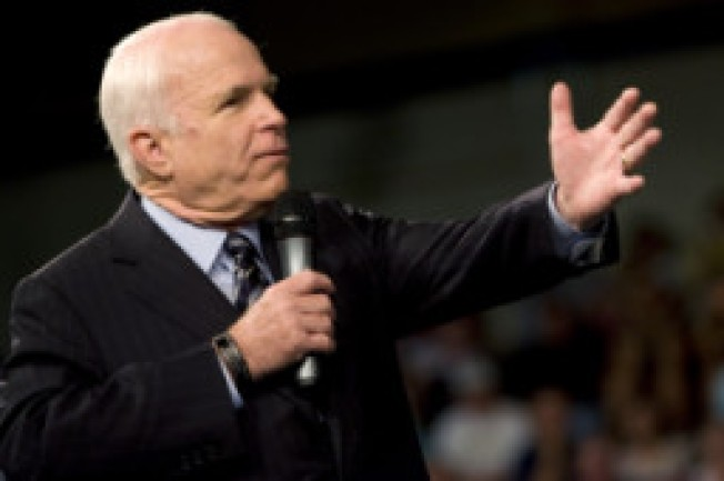 McCain Capitalizes on Kind Words