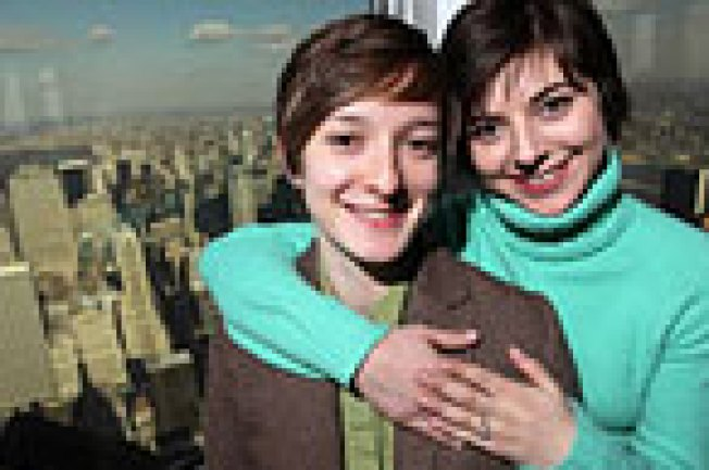 Park Slope Couple to Hold First Same-Sex Wedding at Empire State Building