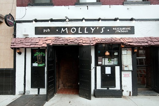 Molly's Pub & Shebeen, a Mainstay of Hard-drinking Third Ave.