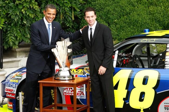 Obama is a NASCAR Guy
