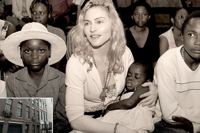 Madonna and Mercy: Together at Last