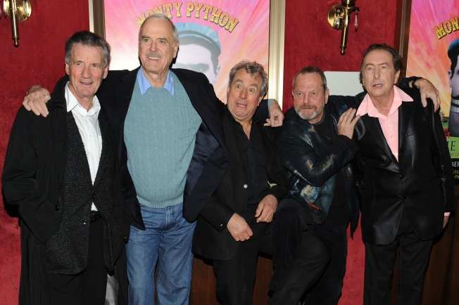 Monty Python Reunite Is Not A Title For A Story