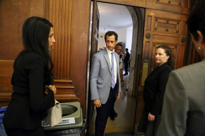 Anthony Weiner's Lawyers Say Teen Lured Him, a 'Weak Man'