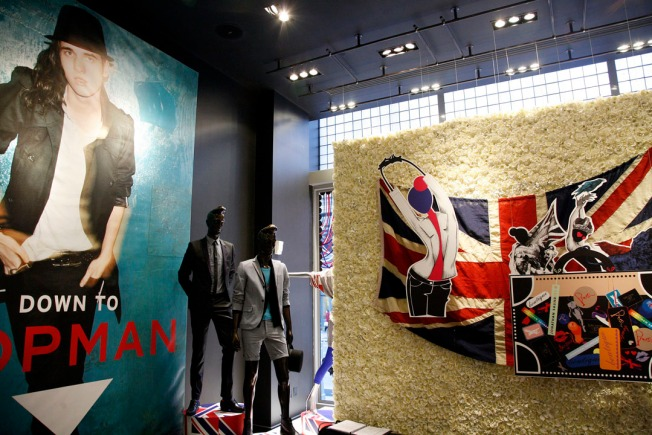 Shopping Showdown: British Invasion On Broadway