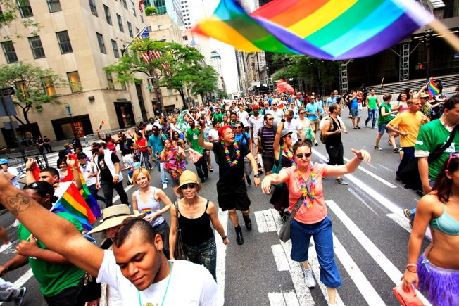 Gay Pride Parade Taking Shorter Route Today