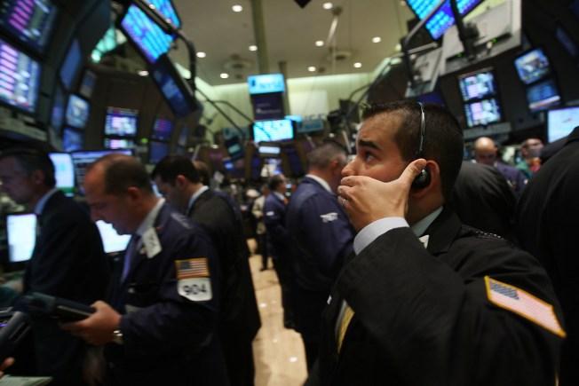 Dow Drops 187