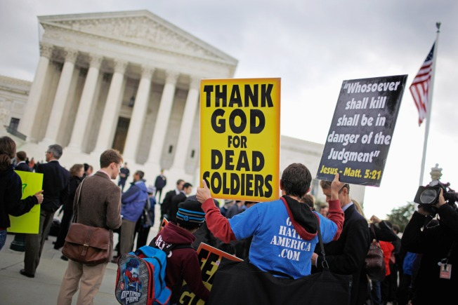 Infamous Church Announces Picket of Jobs' Funeral - Via iPhone