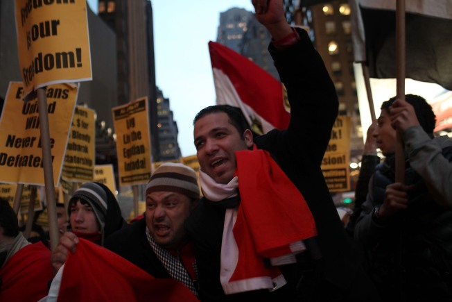 Tri-State Egyptians Disappointed Mubarak Won't Step Down