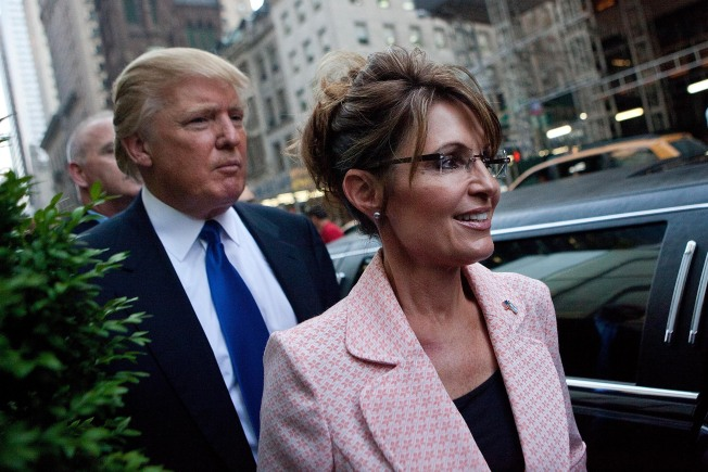 Trump: I'd 'Love' to Pick Palin for Cabinet Spot